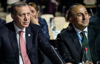 Erdoğan ve Çavuşoğlu'nun açıklamaları...