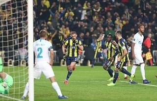 Fenerbahçe'den son 32 turuna iyi başlangıç
