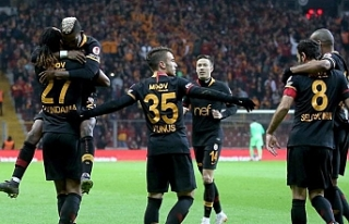 Galatasaray tur için avantaj yakaladı