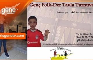 Genç Folk-Der, Demir'in tedavisine katkı için...