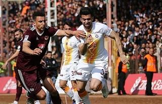 Hatayspor'un müthiş geri dönüşü yetmedi...Galatasaray...