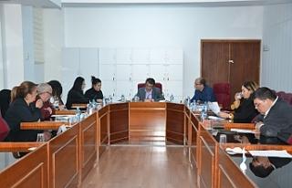 İçtüzük geçici komitesi toplandı