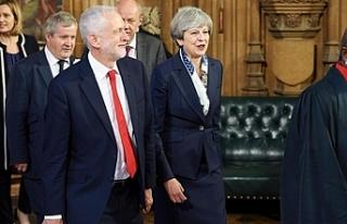 "İngiltere muhalefetinden May'e ""şartlı..."