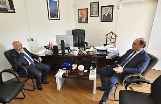 Karavezirler Fehmi Gürdallı'ya nezaket ziyaretinde...