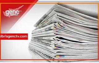 KKTC Gazetelerinin Manşetleri - 25 Şubat 2019