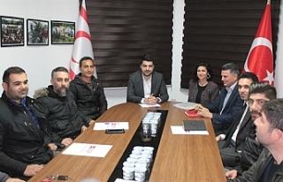 KTOEÖS yetkilileri Halkın Partisi'ni ziyaret etti