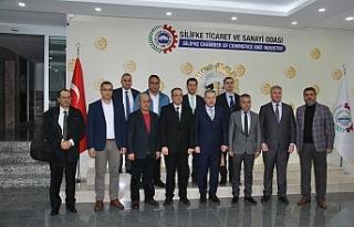 KTSO Heyeti Adana, Mersin-Tarsus ve Silifke'de organize...
