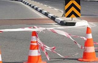 Kurtuluş Caddesi'nin bir kısmı trafiğe kapatıldı