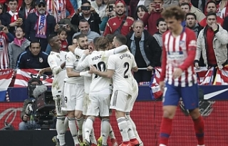 Madrid derbisinde 4 gol