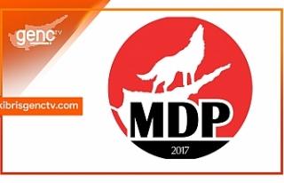 MDP'den taziye mesajı