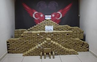 Mersin Limanında 615 kilogram kokain ele geçirildi