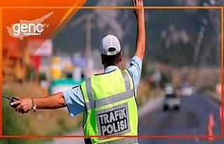 Polisin trafik denetimleri sürüyor
