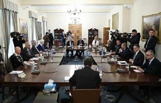Rum Lider, Ulusal Konsey üyelerini bilgilendirecek