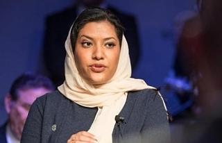 Suudi Arabistan'ın ilk kadın büyükelçisi...