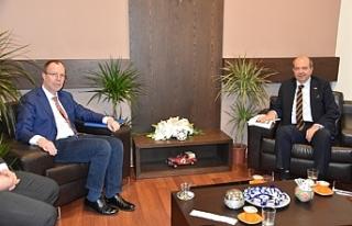 Tatar, Avrupa Komisyonu Kıbrıs Çözüm Destek Birimi...
