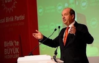 Tatar'dan TBMM Başkanı Şentop'a kutlama