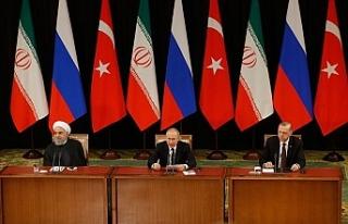Türkiye-Rusya-İran Üçlü Zirvesi'nin ardından...