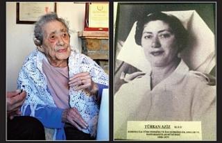 101 yaşında ölen Aziz, Kıbrıs Türk hemşireliğinin...