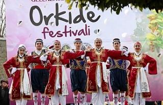 9. Geleneksel Hisarköy Orkide Festivali bugün başladı