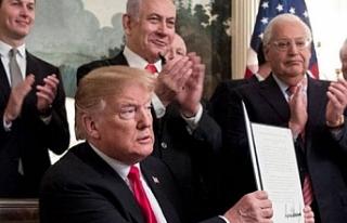 """""""ABD'nin Golan Tepeleri kararı uluslararası..."""