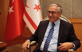 """Akıncı: """"Kıbrıs Türk halkının siyasi eşitliği..."""