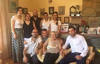 Ali Özgöçmen, Türkan Aziz'in vefatını üzüntüyle...
