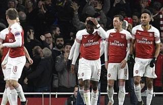 Arsenal 3-0 ile çeyrek finalde
