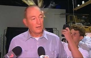 Avustralyalı ırkçı senatöre 'yumurtalı'...