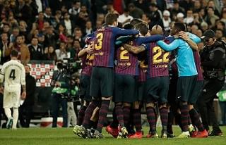Barcelona 'El Clasico'yu ligde de kazandı