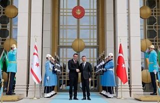 Başbakan Erhürman, Türkiye Cumhuriyeti Cumhurbaşkanı...