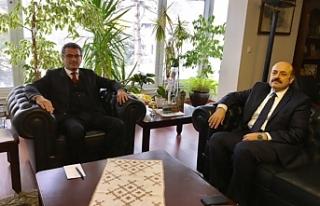Başbakan, YÖK Başkanı ile görüştü