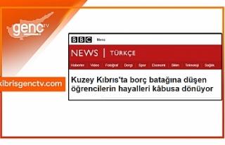BBC Türkçe'den KKTC Üniversiteleri için skandal...