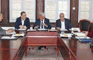 Belediyeler Birliği ile Veteriner Dairesi yetkilileri...