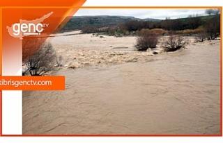 Beylerbeyi'nde metrekareye 170 kg yağış