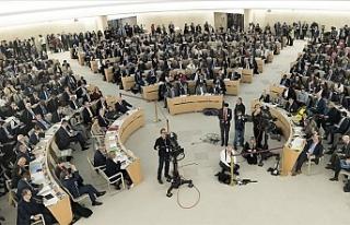 BM İnsan Hakları Konseyi İsrail'i kınayan...