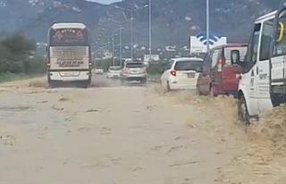 Boğazköy - Dikmen Anayolu, trafik akışına kapatıldı