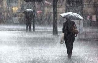 Bugün ve Perşembe günü yağmur bekleniyor