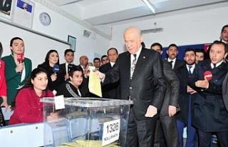 """""""Bütün siyasi partilere hayırlı uğurlu olmasını..."""