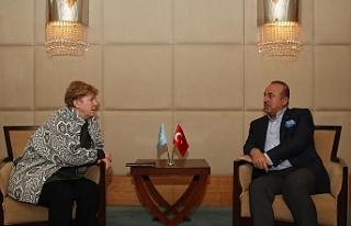 Çavuşoğlu, Lute ile görüştü, siyasi eşitlik...