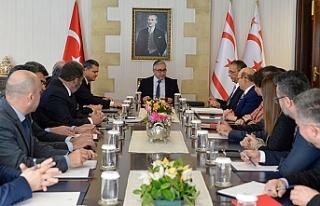 Cumhurbaşkanlığı'nda teknik toplantı