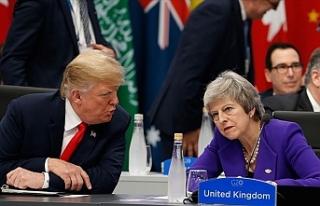 """Donald Trump: """"May beni dinlemedi """""""