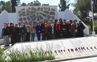 DP'li kadınlardan Atlılar Şehitliği ile Muratağa...