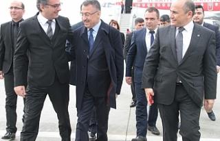 Erhürman, TC Cumhurbaşkanı Yardımcısı Fuat Oktay'ı...