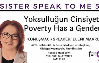 Feminist Atölye konferansında Eleni Mavrou konuşacak