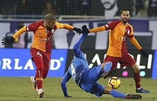Galatasaray'dan Erzurum'da puan kaybı
