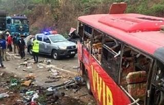 Gana'daki kazada 60 kişi öldü