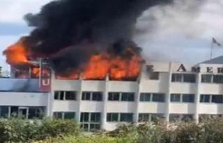 GAÜ'deki yangın söndürüldü