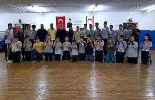 Gazimağusa İhtisas Spor Derneği'ne ziyaret