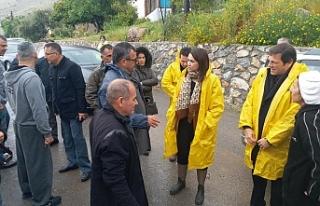 İçişleri Bakanı Dikmen-Taşkent bölgesinde