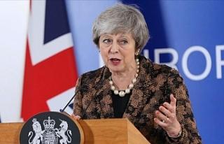 İngiltere Başbakanı May'den parlamentoya Brexit...